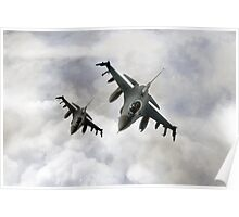 Fighting Falcons Poster