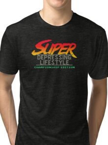 Super Depressing Lifestyle Tri-blend T-Shirt