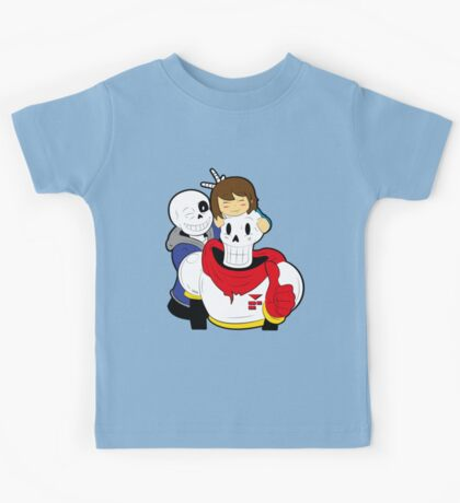 Undertale Sans and Papyrus Kids Tee