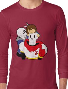 Undertale Sans and Papyrus Long Sleeve T-Shirt