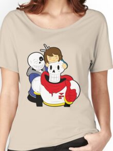 Undertale Sans and Papyrus Women's Relaxed Fit T-Shirt