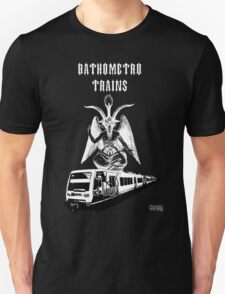 Bathometro trains T-Shirt