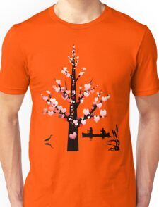 Tee: Canoeing with your Valentine Unisex T-Shirt