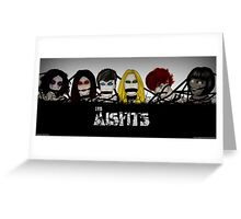 The Misfits Bound Greeting Card