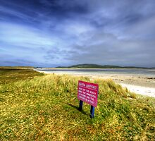 Barra Airport by English Landscape Prints