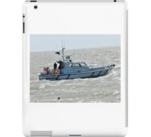 Police Boat iPad Case/Skin