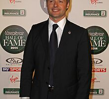 Andy Priaulx at the MotorSport Hall of Fame 2014 by Keith Larby