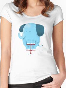 Pogolephant Women's Fitted Scoop T-Shirt