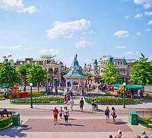 MainStreet USA (Disneyland Paris) by ThatDisneyLover