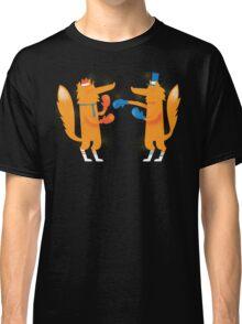 Posh Foxes like to Box while wearing Socks Classic T-Shirt