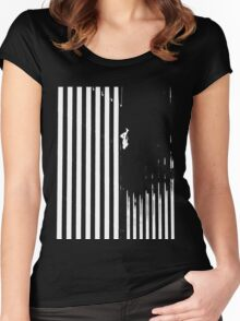 Falling Man Women's Fitted Scoop T-Shirt