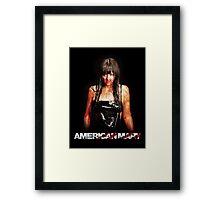 American Mary - Katharine Isabelle Framed Print