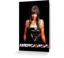 American Mary - Katharine Isabelle Greeting Card