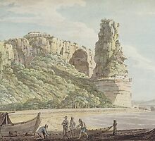 A View at Terracina by Bridgeman Art Library