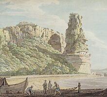 A View at Terracina by Bridgeman Art Library