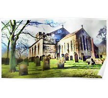 Tanfield Church, Stanley, Co. Durham Poster