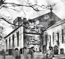 Tanfield Church Panoramic by John Lynch