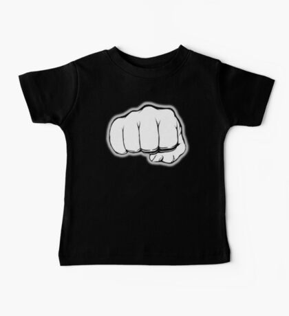 FIST, PUNCH, fight, Strength, Power, Grasp, tough, Karate, Martial Arts, MMA, on Black Baby Tee