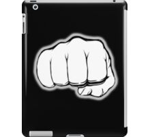 FIST, PUNCH, fight, Strength, Power, Grasp, tough, Karate, Martial Arts, MMA, on Black iPad Case/Skin