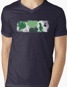 Grundgey Irish Mens V-Neck T-Shirt