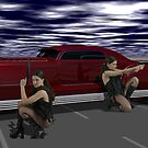 The Killer Elite - Double Hitters on Runway 26 by Sazzart