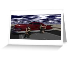 The Killer Elite - Double Hitters on Runway 26 Greeting Card