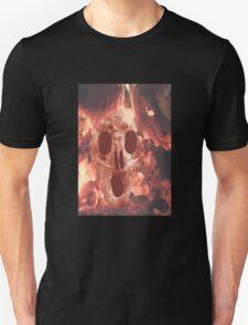 Skull Burning Unisex T-Shirt