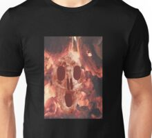 Skull Burning Unisex T-Shirt