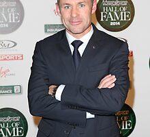 Tom Kristensen attends the MotorSport Hall Of Fame 2014  by Keith Larby