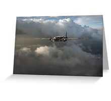 RAF Coastal Command Vickers Warwick ASR Greeting Card
