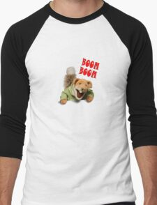 boom boom basil brush Men's Baseball ¾ T-Shirt