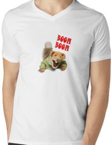 boom boom basil brush Mens V-Neck T-Shirt