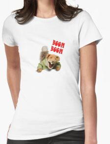 boom boom basil brush Womens Fitted T-Shirt