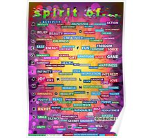Positive Dictionary - English Poster