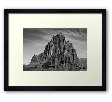 Large Rock in Arches National Park Framed Print