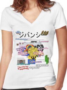 sadboys2001 Women's Fitted V-Neck T-Shirt