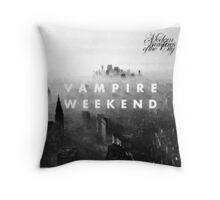 Modern Vampires of the City Throw Pillow