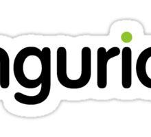 imgurian (large black text) Sticker