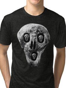 Skulls - Fear Tri-blend T-Shirt