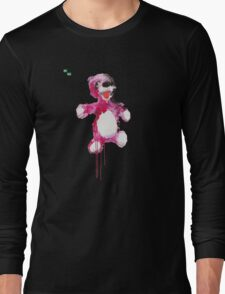 Teddy Bear Breaking Long Sleeve T-Shirt