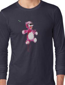 Teddy Bear Breaking Long Sleeve T-Shirt