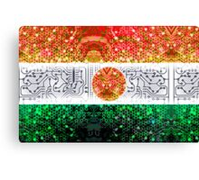 circuit board niger (flag) Canvas Print