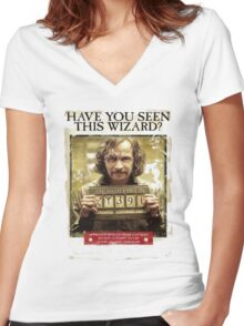 Have You seen This Wizard Women's Fitted V-Neck T-Shirt