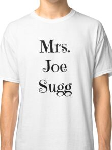 Mrs. Joe Sugg Classic T-Shirt