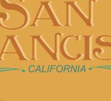 The San Francisco Treat Sticker
