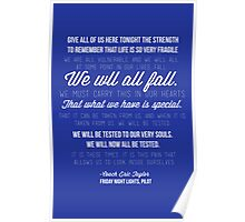 We Will Now All Be Tested Poster