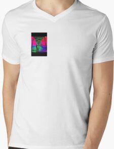 Trippy Pier Mens V-Neck T-Shirt