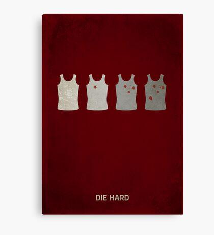 Die Hard Poster Canvas Print
