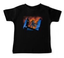 Sherlock Cartoon Baby Tee