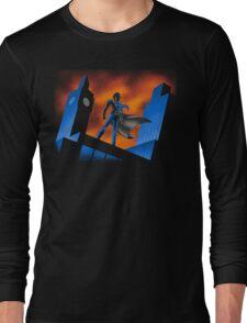 Sherlock Cartoon Long Sleeve T-Shirt